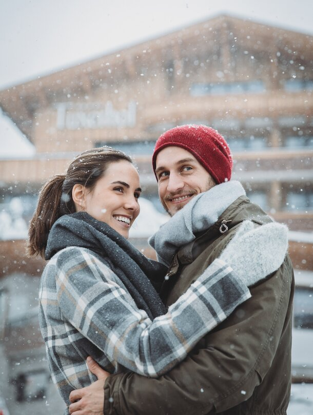 romantic winter holiday in Tyrol