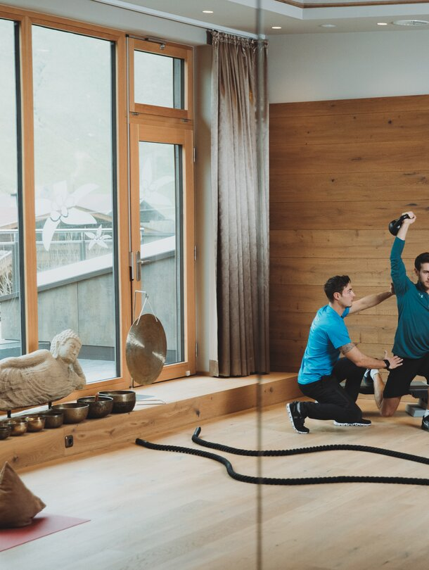 private fitness training on holiday in Tyrol