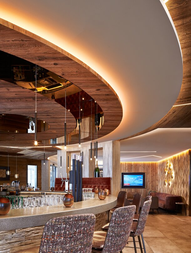 hotel bar in the Zillertal
