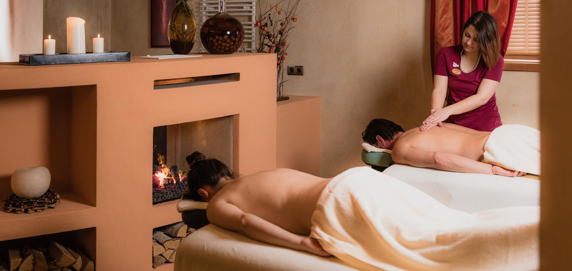 partner massages at the hotel Tuxerhof