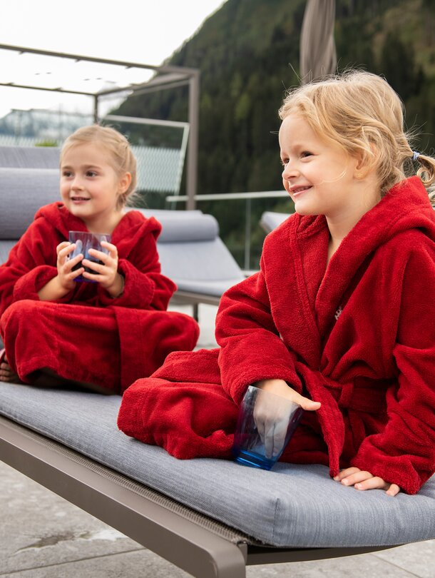 wellness holidays for children at the Tuxerhof