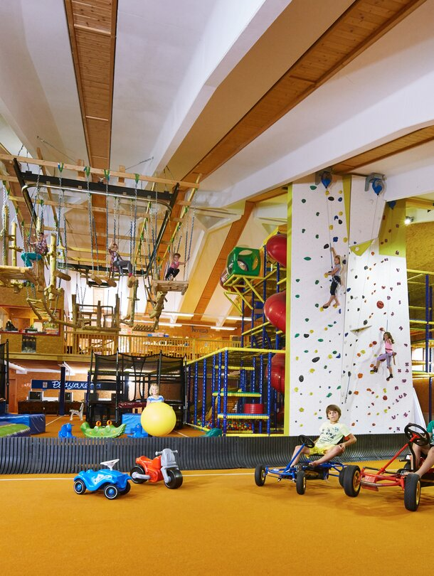hotel with indoor playground in Tyrol