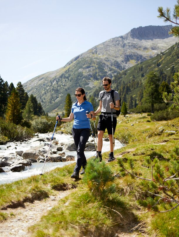 hiking holiday in the zillertal