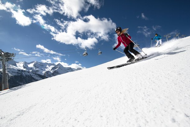 skiing in the zillertal