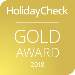 HolidayCheck Gold Award